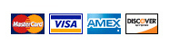 We accept Mastercard, Discover, Visa and American Express as payment for your Christmas lights and Christmas decorations