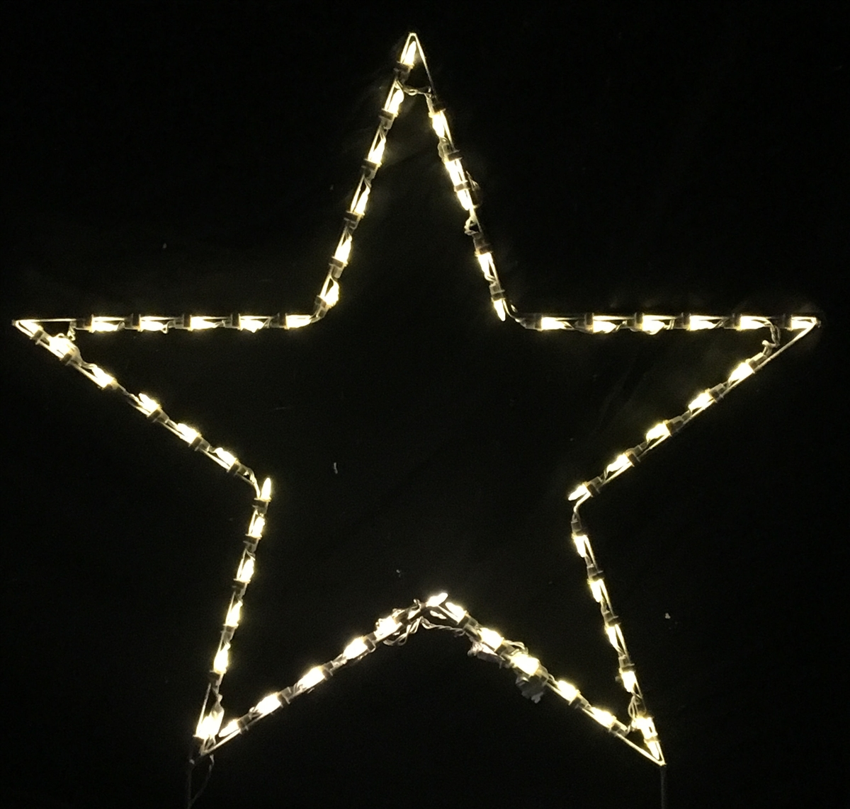 Star Basic Five Point LED Lighted Outdoor Christmas Decoration