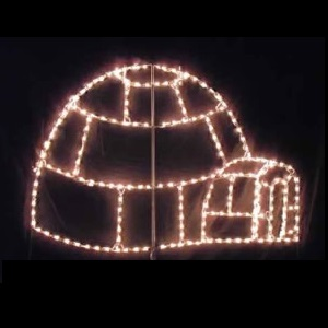 Igloo LED Lighted Outdoor Christmas Decoration