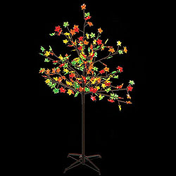 5 Foot Fall LED Maple Tree - 180 Lights