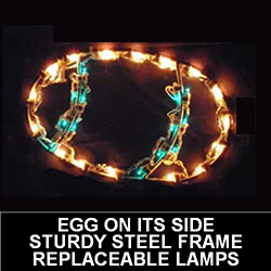 Easter Egg Pick Your Color! Pick Your Style! LED Lighted Easter Decoration