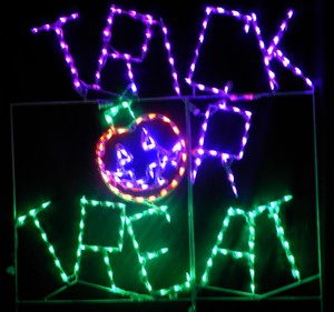 Trick Or Treat LED Lighted Lawn Sign
