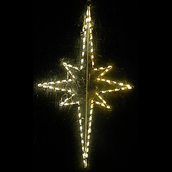 animated hanging star led lighted outdoor christmas decoration
