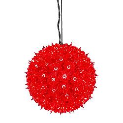 7.5 Inch Starlight Sphere - 100 Red Lights