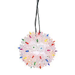 6 Inch Twinkle Star Sphere - 50 Multi Lights