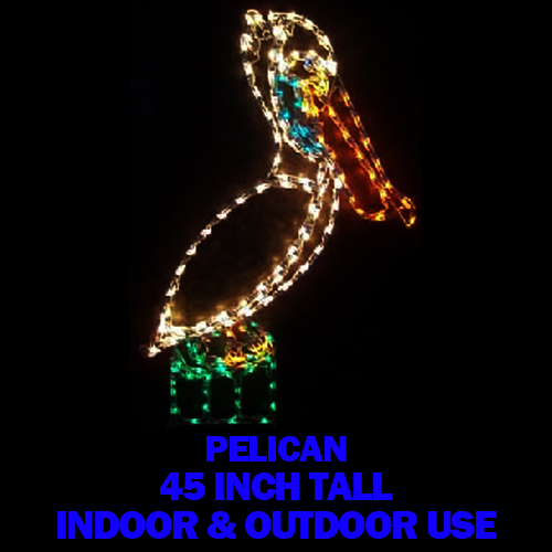 Pelican LED Lighted Outdoor Lawn Decoration