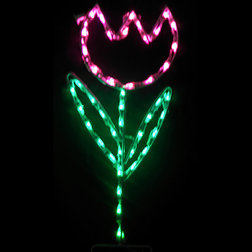 Tulip Pick Your Color! LED Outdoor Lighted Easter Decoration