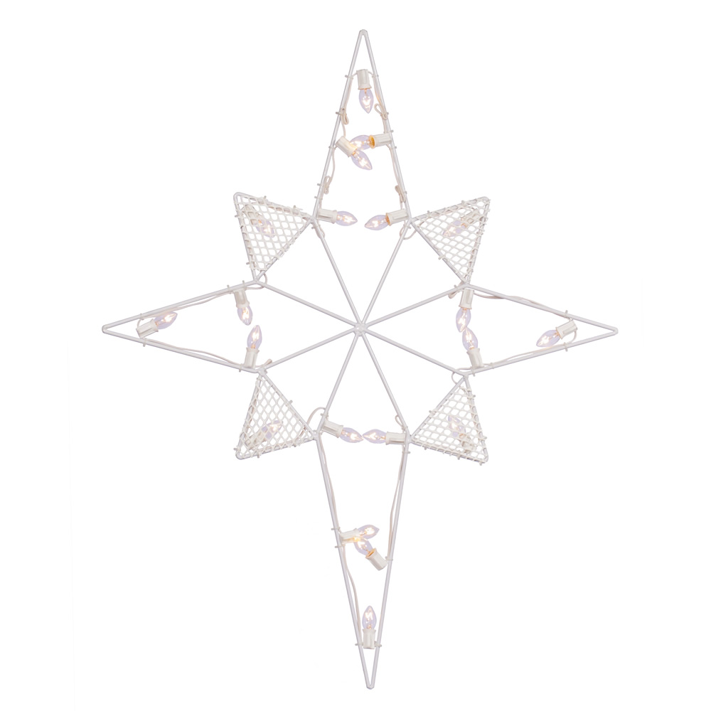 Star Of Bethlehem LED C7 Lighted Outdoor Christmas Decoration