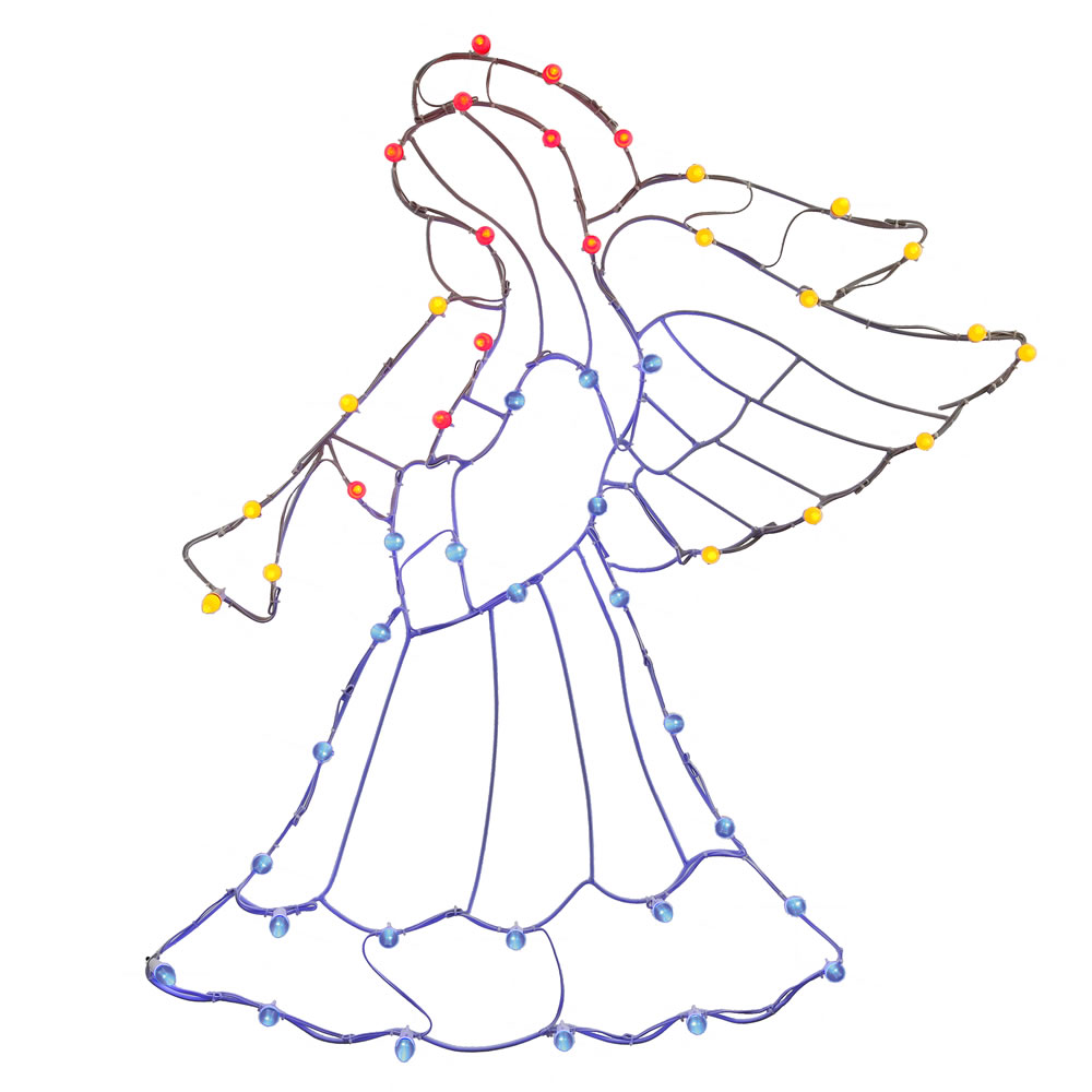 LED Outdoor Christmas Decorations Lighted Angel